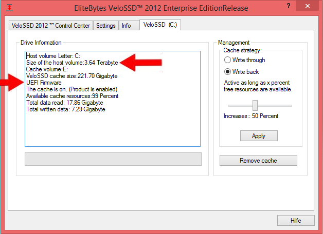 Windows 8 with VeloSSD