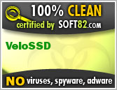 Soft82 100% Clean Award For VeloSSD
