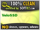 Soft82 100% Clean Award For VeloSSD