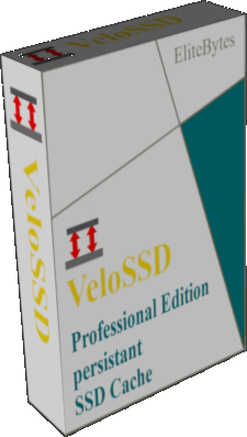 VeloSSD cache software cardbox image